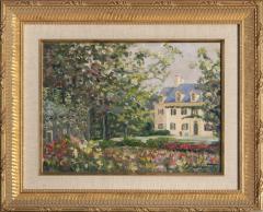 Richard Barnard Chalfant Gardens of Eleutherian Mills Oil on Panel by Richard Chalfant - 83306