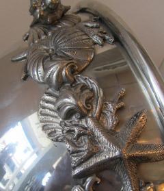 Richard Cipolla A Monumental Italian Pewter Centerpiece Punch Bowl Richard Cipolla - 1323645