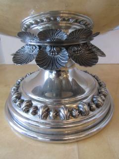 Richard Cipolla A Monumental Italian Pewter Centerpiece Punch Bowl Richard Cipolla - 1323646