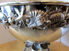 Richard Cipolla A Monumental Italian Pewter Centerpiece Punch Bowl Richard Cipolla - 1323647