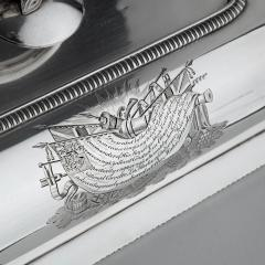 Richard Cooke Captain Sir George Collier s presentation silver entree dishes by Richard Cooke - 1596467