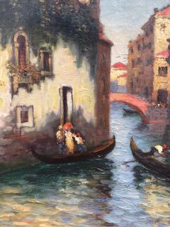 Richard Dey DeRibcowsky Venice Gondolas  - 1166138