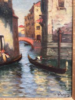 Richard Dey DeRibcowsky Venice Gondolas  - 1166157