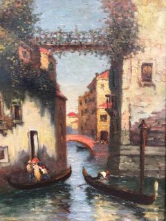 Richard Dey DeRibcowsky Venice Gondolas  - 1166160