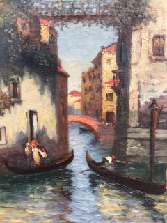 Richard Dey DeRibcowsky Venice Gondolas  - 1166174