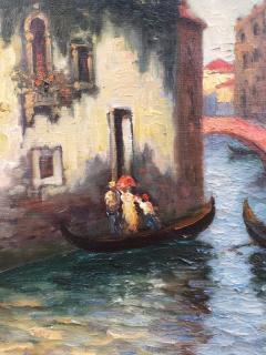 Richard Dey DeRibcowsky Venice Gondolas  - 1166175