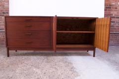 Richard Ernst Artschwager Midcentury American Modern Walnut Sideboard or Dresser by Richard Artschwager - 1701198