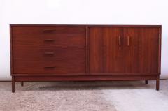 Richard Ernst Artschwager Midcentury American Modern Walnut Sideboard or Dresser by Richard Artschwager - 1701203