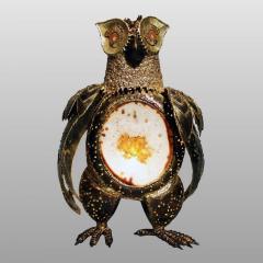 Richard Faure Luminous sculpture owl by Richard Faure - 913374