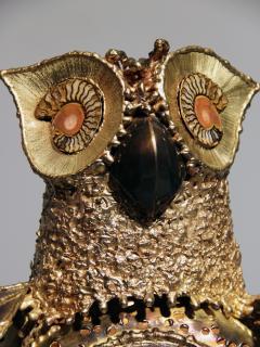 Richard Faure Luminous sculpture owl by Richard Faure - 913376