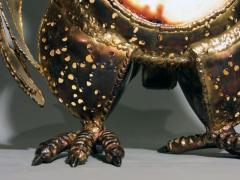 Richard Faure Luminous sculpture owl by Richard Faure - 913379
