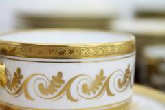 Richard Ginori Dining Coffee Porcelain Set Torino Italy 127 Parts - 828564