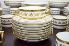 Richard Ginori Dining Coffee Porcelain Set Torino Italy 127 Parts - 828566