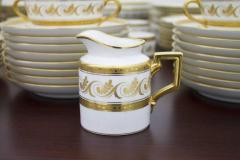 Richard Ginori Dining Coffee Porcelain Set Torino Italy 127 Parts - 828567