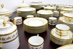 Richard Ginori Dining Coffee Porcelain Set Torino Italy 127 Parts - 828568