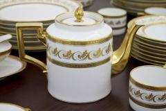 Richard Ginori Dining Coffee Porcelain Set Torino Italy 127 Parts - 828569