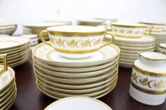 Richard Ginori Dining Coffee Porcelain Set Torino Italy 127 Parts - 828571