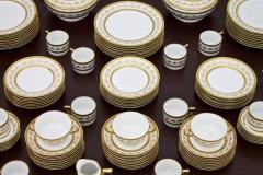 Richard Ginori Dining Coffee Porcelain Set Torino Italy 127 Parts - 852616