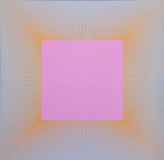 Richard Joseph Anuszkiewicz Light Magenta Square - 297534