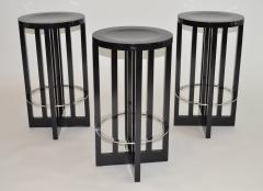 Richard Meier Set of Three High Stools by Richard Meier for Knoll 1982 - 1006682
