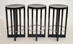 Richard Meier Set of Three High Stools by Richard Meier for Knoll 1982 - 1006684