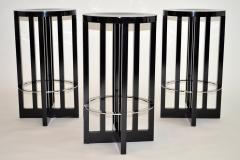Richard Meier Set of Three High Stools by Richard Meier for Knoll 1982 - 1006686