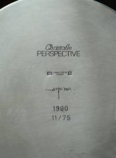 Richard Meier Silver Plated Verseuse Tea Pot by Richard Meier for Christofle - 355293