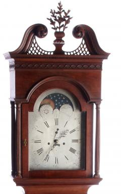 Richard Miller Spruance Family Tall Case Clock by Richard Miller Duck Creek DE - 332510