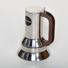 Richard Sapper Richard Sapper for Alessi Stylish Coffee Expresso Maker Vintage Modern ITALY - 1996013