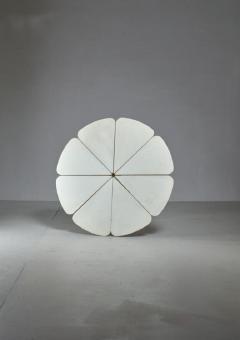 Richard Schultz Richard Schultz Petal Coffee Table in White for Knoll USA 1960s - 772131