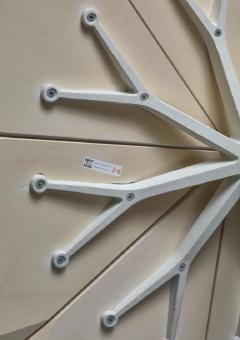 Richard Schultz Richard Schultz Petal Coffee Table in White for Knoll USA 1960s - 772133