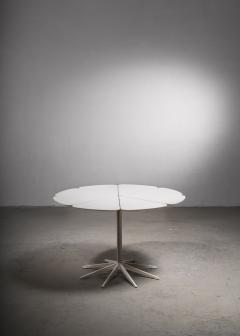 Richard Schultz Richard Schultz Petal Dining Table in White for Knoll USA 1960s - 2068543