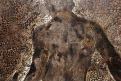 Rick Moens Impressive Oversized Painting Bathing Man by R Moens - 262777