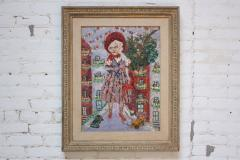 Rifka Angel Giant Woman Encaustic Painting by Rifka Angel 1971 - 620007