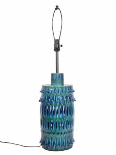 Rimini Blue Mid Century Table Lamp - 1589680