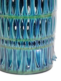 Rimini Blue Mid Century Table Lamp - 1589686