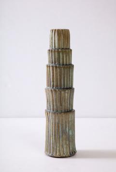 Robbie Heidinger Fluted Stack Vase 1 by Robbie Heidinger - 1160702