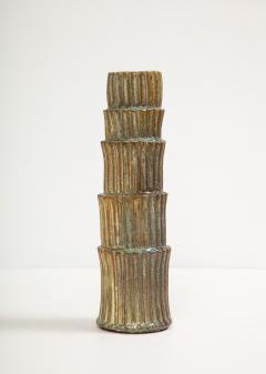 Robbie Heidinger Fluted Stack Vase 2 by Robbie Heidinger - 1160690