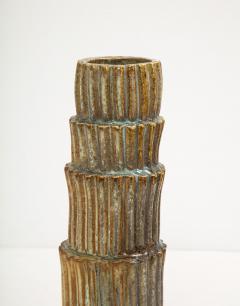 Robbie Heidinger Fluted Stack Vase 2 by Robbie Heidinger - 1160691