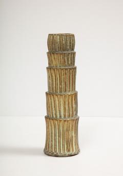 Robbie Heidinger Fluted Stack Vase 2 by Robbie Heidinger - 1160695