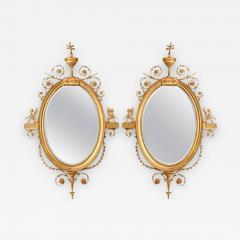 Robert Adam A Pair of George III Style Giltwood Mirrors - 445691