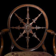 Robert Adam Antique Georgian Neoclassical Armchair - 1214524