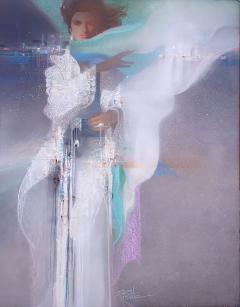 Robert Bob Peak Tara Art Deco Girl - 1181393