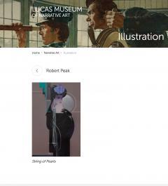 Robert Bob Peak Tara Art Deco Girl - 1181394