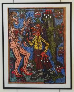 Robert COMBAS Robert Combas Original Serigraphy 28 30 1990 - 1289633
