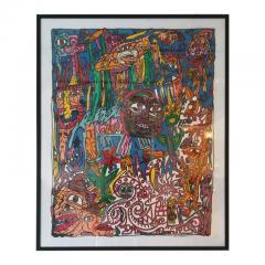 Robert COMBAS Robert Combas Original Serigraphy 83 100 1992 - 1289622