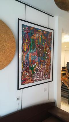 Robert COMBAS Robert Combas Original Serigraphy 83 100 1992 - 1289623