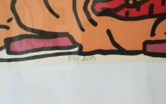 Robert COMBAS Robert Combas Original Serigraphy 83 100 1992 - 1289627