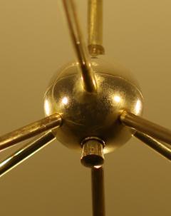 Robert Caillat Brass Chandeliers circa 1955 - 780784