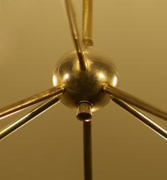 Robert Caillat Brass Chandeliers circa 1955 - 780785